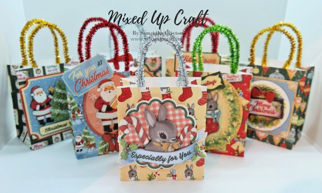 "Adorable Mini 3.1/2 x 2"" Hanging Gift Bags"