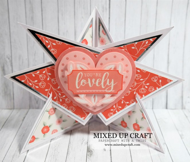 Beautiful Star Easel Card