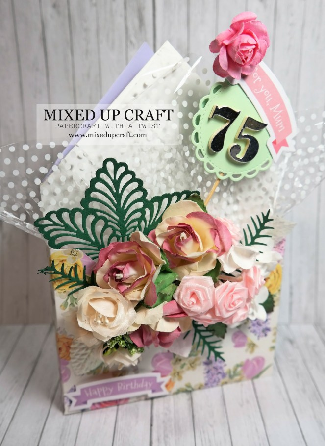 Beautiful Envelope Box Bouquet Card