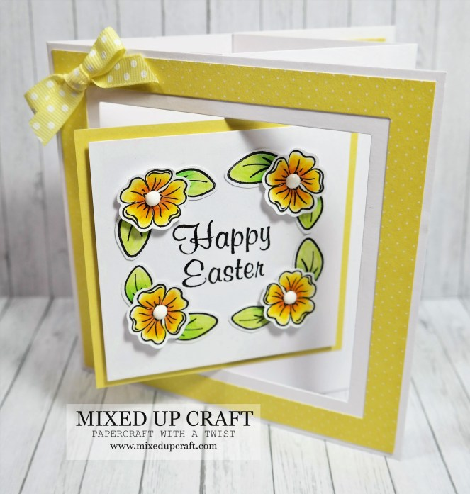 Beautiful Swing Fold Card