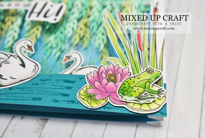 Beautiful 3D Diorama Card