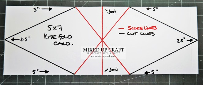 Kit Fold Card Templates