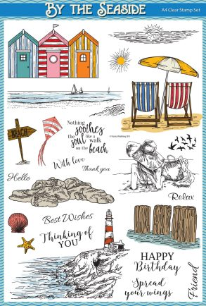 By The Seaside stamp set