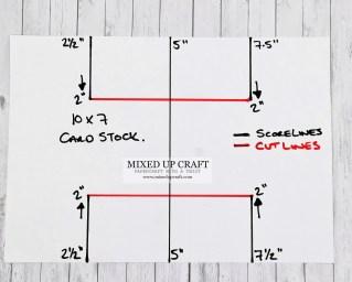 Tri-Fold card template