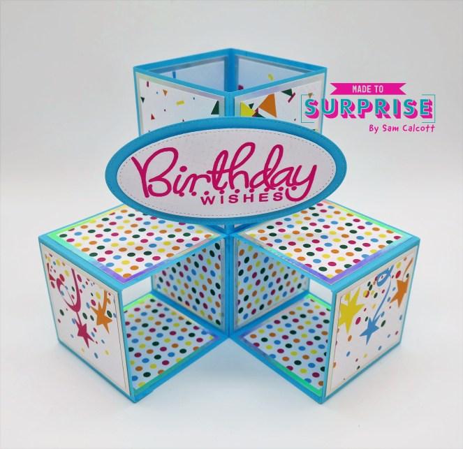 Triple Pop-Up Cube Card