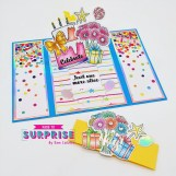Gatefold Slider Card
