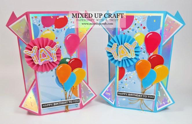 Double Fan Fold Cards
