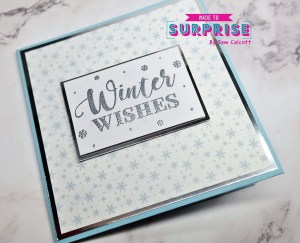 Corner Pop-Up Easel Cards