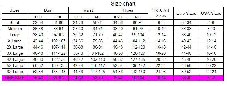 Image result for size chart plus size cm xl through 5xl