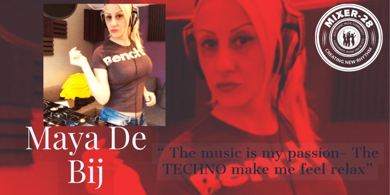 Read more about the article Maya De Bij – Therapeutic  Techno Mix with some Nu-Disco
