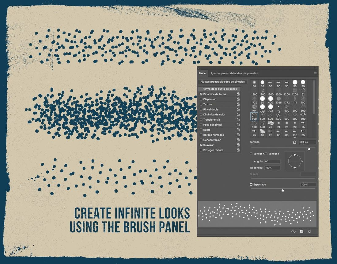 Mixergraph The Stipple Brushes kit
