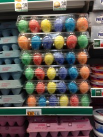 Wondering if I should buy already-colored eggs?