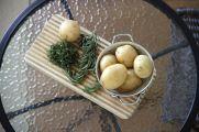 Making Herbed Roesti