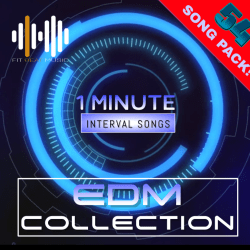 Interval Training Music. 1 minute drills. Royalty Free Music for Fitness Workouts.