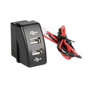 Lampa DAF SERIES 95XF/CF 97>13+ ΑΝΤΑΠΤΟΡΑΣ ΔΙΠΛΟΣ USB 12/24V 3A ΜΕ ΚΑΛΩΔΙΟ 15cm