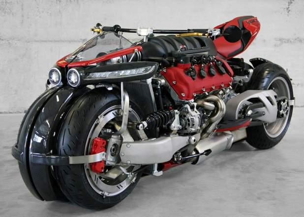 Lazareth LM 847 4-wheel tilting motorcycle