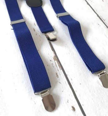 Bretels Mono Blue