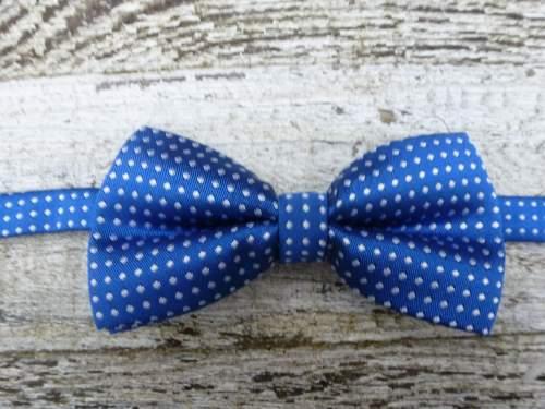 Kobaltblauw strikje