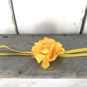 Haarbandje Little Yellow Bloom
