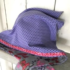Paarse bandana voor meisjes