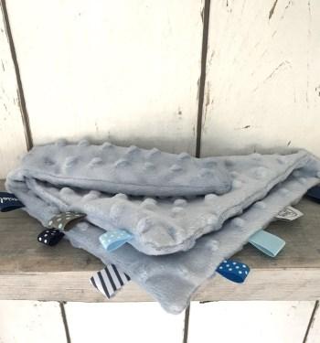 Lichtblauw Knuffeldoekje / Sleepy voor jongens