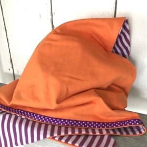 Oranje bandana voor meisjes