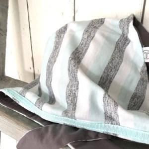 Gestreepte bandana voor jongens