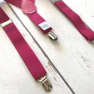 Bretels voor meisjes: Bretels Mono Fuchsia