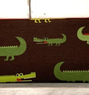 etuitje krokodil