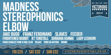 mix it all up victorious festival lineup 2017