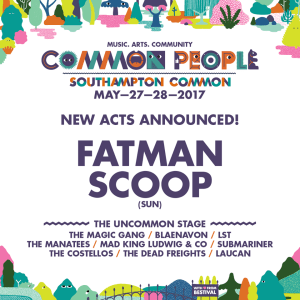 Mix it all up common people southampton