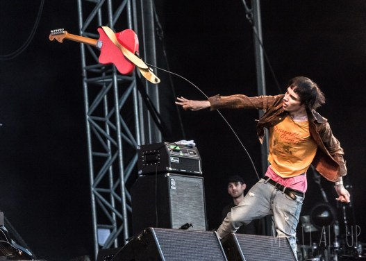 The Cribs live at Victorious Festival 2018.