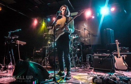 Tom Millichamp supporting Arcade Hearts live at Joiners, February 2019