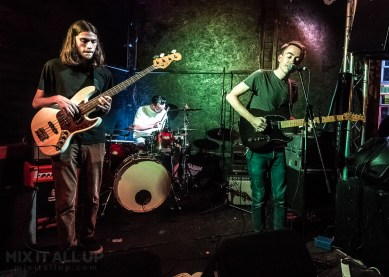 Mammalia Blue supporting Flying Machines live at the Edge of the Wedge, Portsmouth - 03/08/19
