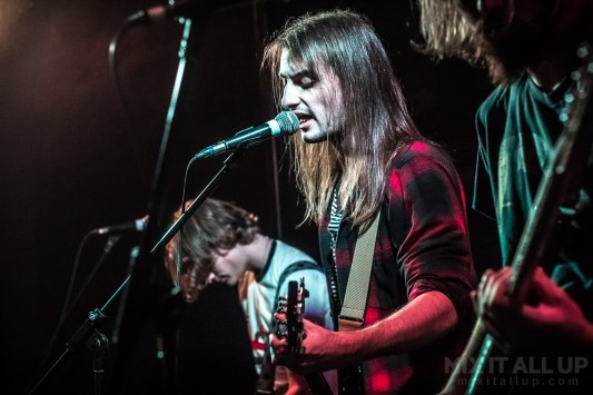 The Dusty Trims supporting The White Lakes live at the Edge of the Wedge, Portsmouth - 07/09/19