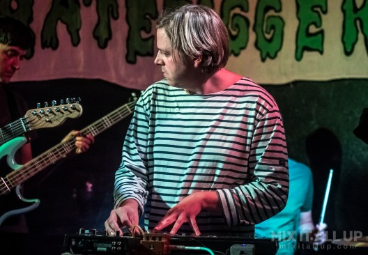 The Soft Walls supporting Modern Nature live at the Edge of the Wedge, Portsmouth - 22/09/19