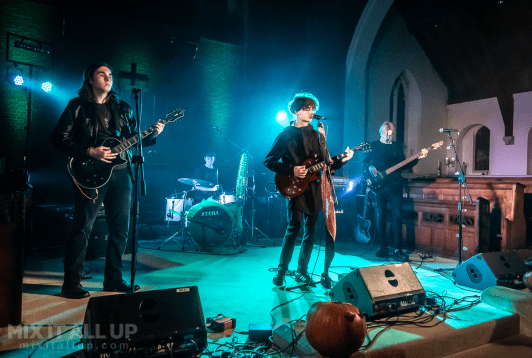 The Orchid Thieves supporting The Unknown Soldiers @ Cool Gig in a Church, Gosport - 02/11/19