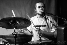 Tom Millichamp supporting DECO live at the Edge of the Wedge, Portsmouth - 21/11/19