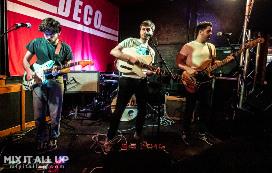 Dutch Criminal Record supporting DECO live at the Edge of the Wedge, Portsmouth - 21/11/19