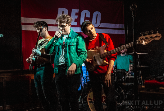 DECO live at the Edge of the Wedge, Portsmouth - 21/11/19