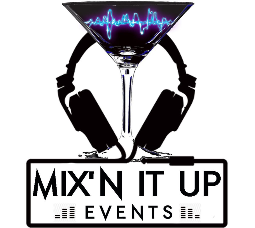 Contact us - Mix N It Up Events Logo