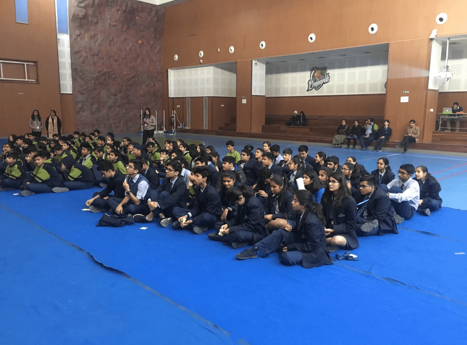 MixORG cyber security session at Shiv Nadar School, Noida