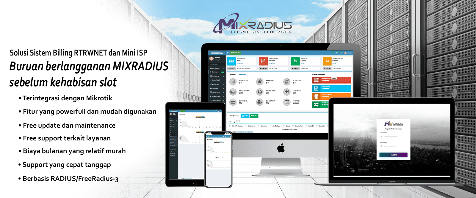 Cloud Mixradius