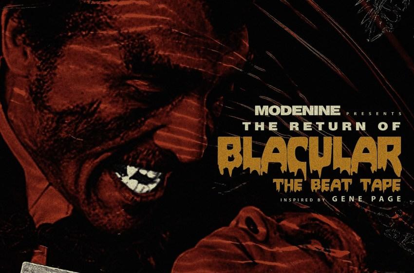 Modenine – The Return of Blacular (Instrumental Mixtape)