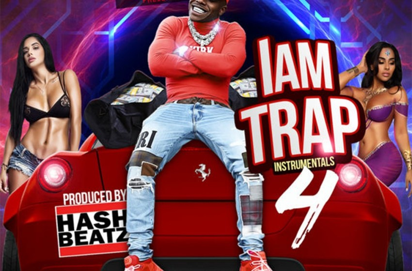 Hash Beatz – I Am Trap 4 Instrumentals (Instrumental Mixtape)