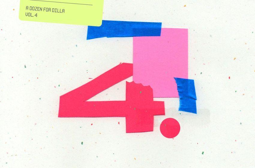 Thelonious Martin – A Dozen For Dilla Vol. 4 (Instrumental Mixtape)