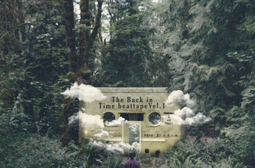Grim The Creative – The Back in Time Beat Tape Vol. 1 (Instrumental Mixtape)