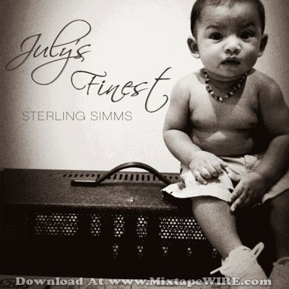 sterling simms july's finest mixtape cover