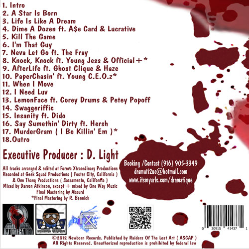 dramatique-kill-the-game-back-cover-tracklist