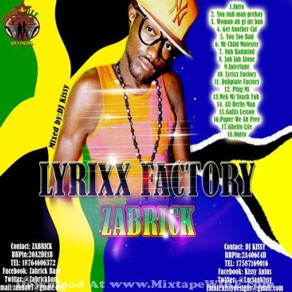 zabrick-lyrixx-factory-mixtape-cover